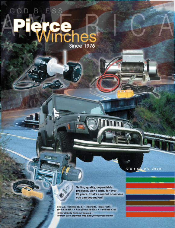 Pierce Winches